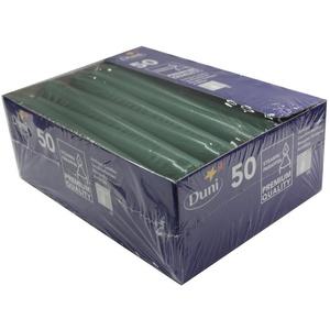 Duni Leuchterkerzen dunkelgrün, 25 cm, 50 Stück