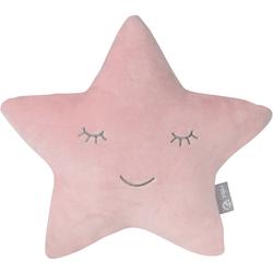 roba® Babykissen Lil Cuties, Stern rosa