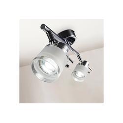 B.K.Licht LED Deckenleuchte, mit Glaslampenschirm GU10 IP44