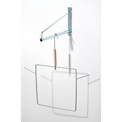 Wandkonsole zum Aufhängen von Netzbügeln