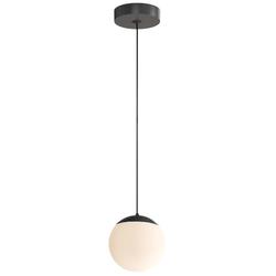 Palla Pendelleuchte - Ø 16 cm - einflammig - Schwarz