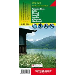 Karnische Alpen Gailtal Gitschtal Nassfeld Lesachtal Weissensee Oberdrautal 1 : 50 000. WK 223