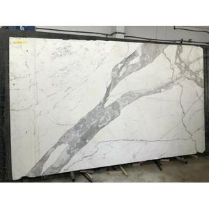 weisser italienischer Marmor Couchtischplatte Esstischplatte Naturstein Ablage