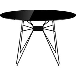 COUCH♥ Esstisch Macht die Runde, In 2 Größen 120 cm x 75 cm x 120 cm