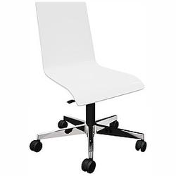 CAFE-VII Drehstuhl mit Holz-Sitzschale