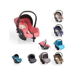 Moni Babyschale Babyschale Gala, Gruppe 0+, 3 kg, (0 - 13 kg), Sitzpolster, Fußabdeckung rosa