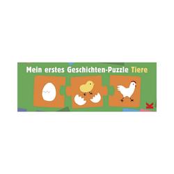 Laurence King Puzzle Mein erstes Geschichten-Puzzle Tiere, Puzzleteile