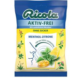 RICOLA AKTIV-FREI o.Z.Menthol-Zitrone Bonbons