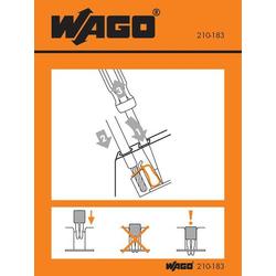 WAGO 210-183 Handhabungsaufkleber 100St.