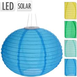 Solar Lampion OVAL - LED Gartenbeleuchtung mit Akku - Dekobeleuchtung Partybeleuchtung
