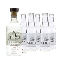 Jinzu Gin & Gents Swiss Roots Tonic Set