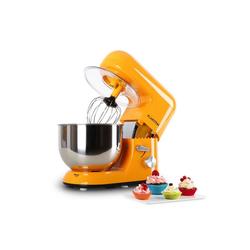 Klarstein Küchenmaschine Bella Orangina Küchenmaschine, 1200W 1,6 PS, 5 Liter orange orange
