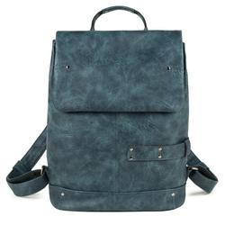 Zwei Rucksack Vintage blau