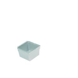 Ordnungssystem silber 8x8x5 cm