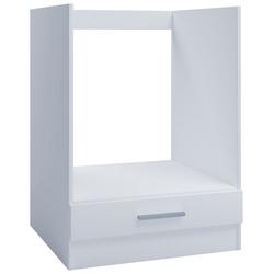 VCM Backofenumbauschrank Ofenschrank OS 1 für Einbauherd 60cm weiß