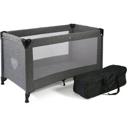 CHIC4BABY Baby-Reisebett Basic, Jeans Grau