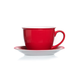 Ritzenhoff & Breker / Flirt Jumbo Tasse Doppio in rot, 360 ml