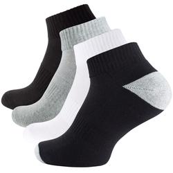 Quarter Socken-Sportsocken mit Mesh-Strick, 6 Paar