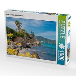 Strand bei Cala Millor Mallorca Lege-Größe 64 x 48 cm Foto-Puzzle Bild von Kerstin Waurick Puzzle
