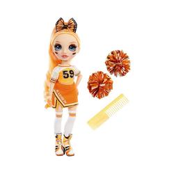 MGA Anziehpuppe Rainbow High Cheer Doll - Poppy Rowan (Orange) orange