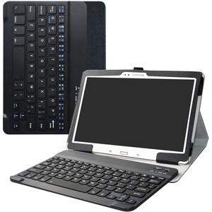 Labanema Galaxy Tab S 10.5 Tastatur Hülle, Schutzhülle mit Magnetisch Abnehmbar Drahtloser Wireless Tastatur für Samsung Galaxy Tab S 10.5 T800 T805 Tablet - Schwarz