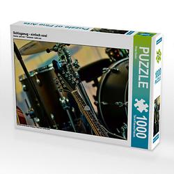Schlagzeug - einfach cool Lege-Größe 64 x 48 cm Foto-Puzzle Bild von Peter Roder Puzzle