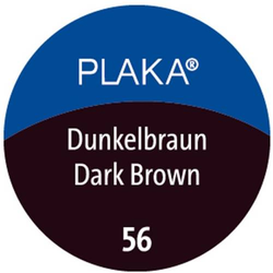 Plaka-Farbe 56 dunkelbraun 50ml