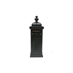 HTI-Line Briefkasten Standbriefkasten Siena (1-St) schwarz