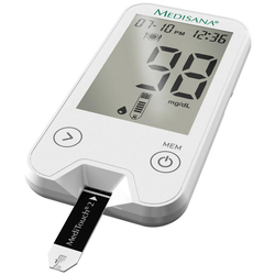 Medisana Blutzuckermessgerät MediTouch 2 M79030, inkl. Starterset