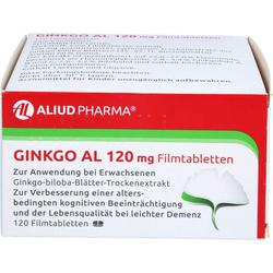 GINKGO AL 120 mg Filmtabletten 120 St.