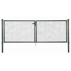 GAH Wellengitter Doppeltor grün 3000 x 750 mm