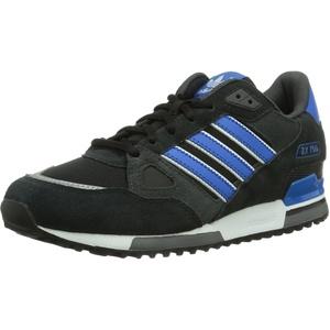 adidas Originals ZX 750 M18260 Unisex - Erwachsene Laufschuhe, Schwarz (Black 1 / Bluebird / Running White Ftw), 43 1/3