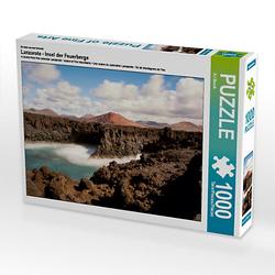 Lanzarote - Insel der Feuerberge Lege-Größe 64 x 48 cm Foto-Puzzle Bild von Angelika Beuck Puzzle