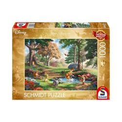 Schmidt Spiele Puzzle Puzzle Disney, Winnie The Pooh, 1.000 Teile, Puzzleteile