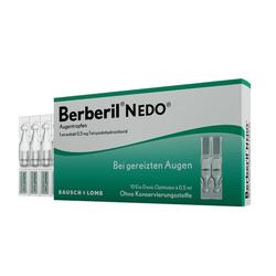 BERBERIL N EDO Augentropfen 10X0.5 ml