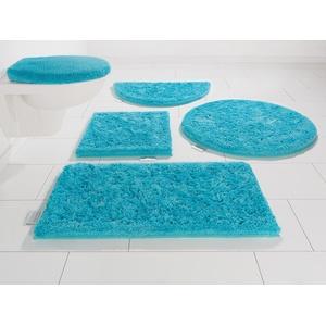 Badematte Jari, Guido Maria Kretschmer Home&Living, Höhe 30 mm blau Einfarbige Badematten