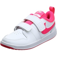 Nike Pico 5 Tennis Shoe, White/Hyper Pink, 21
