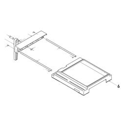 PROXXON 28070-06 Gehäuseoberteil für Feinschnitt-Tischkreissäge FKS/E