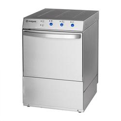 Gastro Geschirrspülmaschine Universal inkl. Klarspülmitteldosier-, Reinigerdosier- und Ablaufpumpe, 230/400V, 3,9/4,9 kW