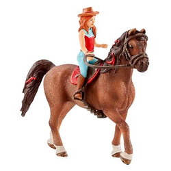 Schleich® Horse Club 42411 Hannah & Cayenne Spielfiguren-Set