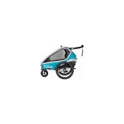 Qeridoo Fahrradkindersitz Kidgoo1 2020 Grau blau