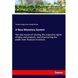 A New Monetary System als Buch von Edward Kellogg/ Mary Kellogg Putnam
