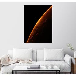 Posterlounge Wandbild, The red planet 30 cm x 40 cm