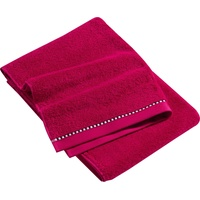 Handtuch 2 x 50 x 100 cm raspberry