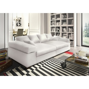 Big Sofa Couchgarnitur Megasofa Riesensofa Arezzo - Kunstleder Weiss