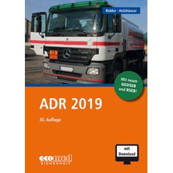 ADR 2019 als Buch von Klaus Ridder/ Jörg Holzhäuser