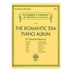 The Romantic Era Piano Album - Buch