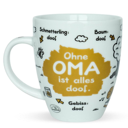 sheepworld Tasse Ohne Oma
