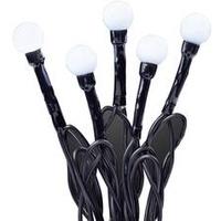 Hellum 576771 Motiv-Lichterkette Kugeln Außen netzbetrieben Anzahl Leuchtmittel 80 LED Neutral-Wei