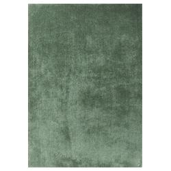 Hochflor Teppich - Soft Uni (Light Green; 190 x 190 cm)